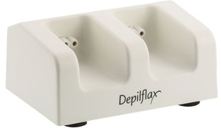 DEPILFLAX Roll-On Wachserhitzer Duostation leer