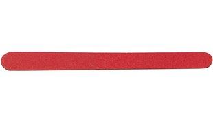 Sandpapiernagelfeile L: 12 cm 10 Stk. rot