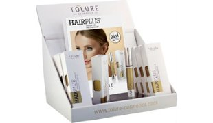 Tolure Hairplus® Display (9pcs+1 Sample) + 20 Folder