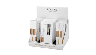 Tolure Hairplus® Wimpern-und Augenbrauenkamm Set Display (8pcs)