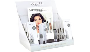 Tolure Lipboost® Clear Display (9pcs.+1 Sample) + 20 Folder